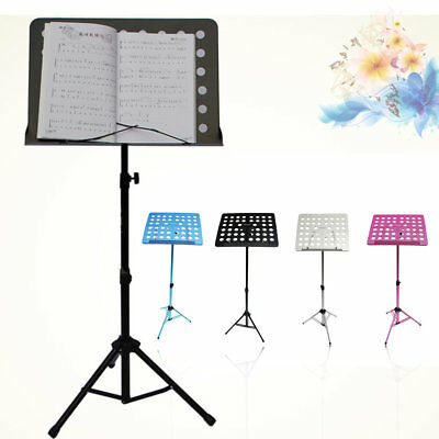 FL-05R Flanger Folding Music Stand Tripod Stand Holder With Carrying Bag W0