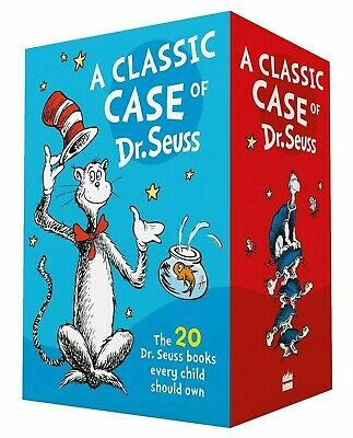 NEW The Wonderful World of Dr Seuss 20 Book Boxed Gift Set Collection