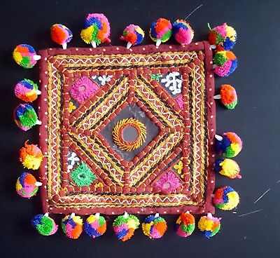 Indian Handicrafts Vintage Ethnic Traditional Beer Tea Mats Coasters Table Art