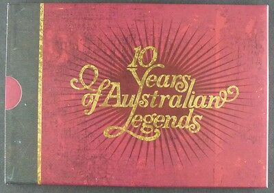Australien Australia 2007 Legends Cricket Militär Tennis Musik Markenheft 260