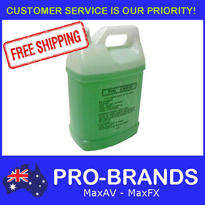 5L Thick Dense Grade Fog Smoke Haze Machine Fluid Value Juice Liquid 5 Litre