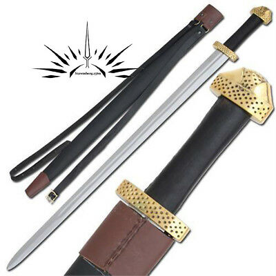 Functional-Battle-Medeival-Viking-Sword-Replica-9th-Century-Handmade-Steel