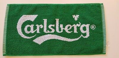 Beer Bar Brand CARLSBERG Towel And Gift (Carlsberg Beer Opener)