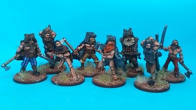 Painted 28mm Foundry Vikings