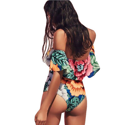 2017 New Women One Piece Bikini Set Monokini Swimwear Bathing Suit Swimsuits