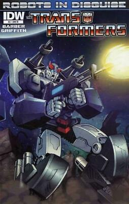 Transformers Robots in Disguise #4 1:10 Variant Cover by Marcelo Matere