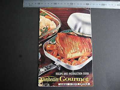 Sunbeam Frypan Recipe & Instruction Book  41 pages