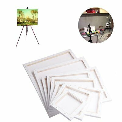 Canvas Panel Blank Cotton Wooden Frame Board For Oil Art DIY Drawing Painting KU