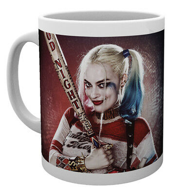 Suicide Squad Harley Quinn Good Night DC Comics Superheroes Tea Coffee Mug Mugs