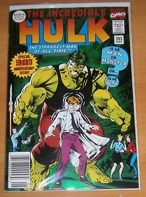AUTOGRAFO SIGNED BY STAN LEE Incredible Hulk Special 30th 92 #393 marvel comics