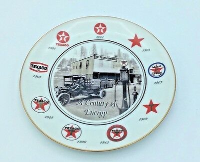 Texaco 2011 Limited Edition Plate Gift Quality