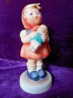 Goebel Hummel Figurine Girl With Doll #239B Tmk 5