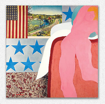 Tom Wesselmann Great american nude 5 90x90cm STAMPA TELA CANVAS PRINT TOILE