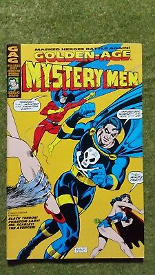 AC Comics. Golden Age Men Of Mystery #1.