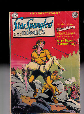 Star Spangled Comics 110 Robin the Boy Wonder Tomahawk   solid copy