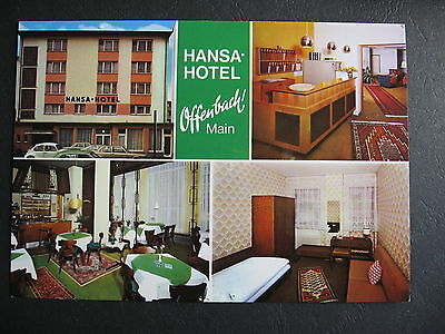 Hansa Hotel Offenbach Main Germany