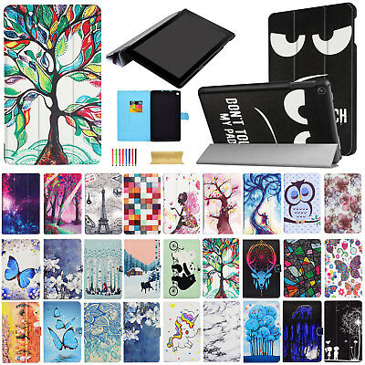 For Amazon Kindle Fire HD 8 7th Gen 2017 Magnetic Leather Smart Stand Case Cover