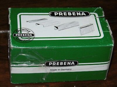 PREBENA 5000 Heftklammern Staples D08 5/16 MAde in Germany Verzinkt