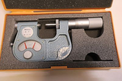 "Mitutoyo 0-1"" Indicating Micrometer No. 510-105 w/ CASE"