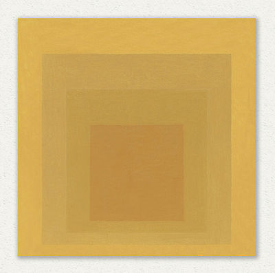 Josef Albers   TAPESTRY   60x60 cm STAMPA TELA CANVAS PRINT TOILE LIENZO