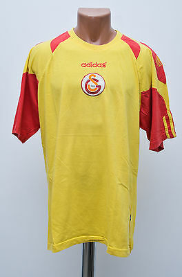 Galatasaray Turkey 1990`s Training Football Shirt Jersey Trikot Adidas