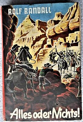 """Western Leihbuch- Serie: OLD JERRY- Band 11""""Alles oder Nichts"""" R.Randall Z-2-3"""