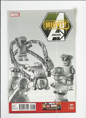 Mighty Avengers #1 Lego Sketch 1:100 Variant Cover (VF/NM) condition