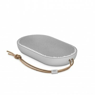 B&O Play by Bang & Olufsen Beoplay P2 Portable Bluetooth Speaker Natural