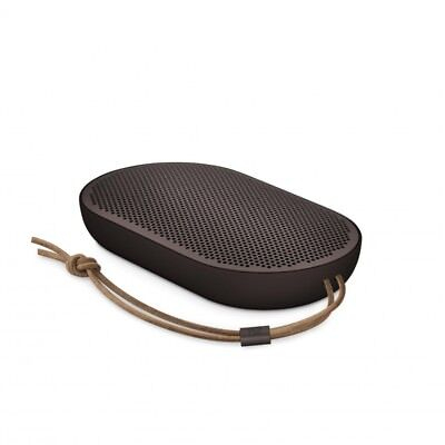 B&O Play by Bang & Olufsen Beoplay P2 Portable Bluetooth Speaker Umber