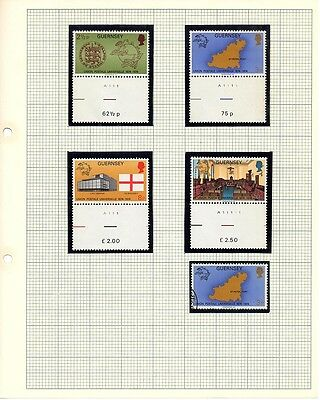 1974 Guernsey Stamps - FDC and Mint set of 4, Universal Postal Union  SG114-117