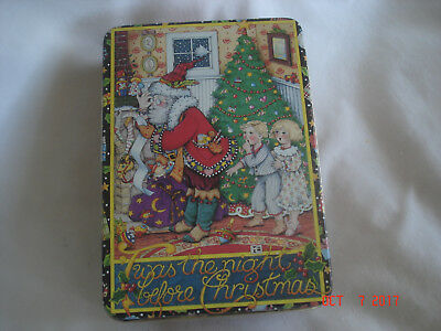 """Vtg. MARY ENGELBREIT """" Twas the Night Before Christmas"""" TIN Midwest Cannon Falls"""
