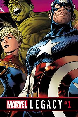MARVEL LEGACY #1 Quesada Regular Cover 2017  60 pages Near Mint/Unread Sold Out