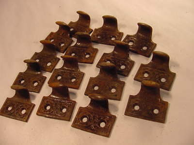 Vintage cast drawer pulls from closed general store..box lot of 15.. NOS