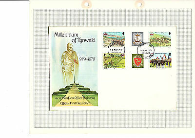 Isle of Man Stamps FDC & Mint set of 6 The Anniversary of the Tynwald SG150-155