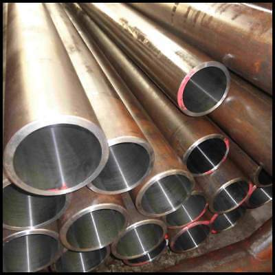 MILD STEEL SEAMLESS ROUND TUBE PIPE CDS 7.94mm to 50.8mm O/D *MANY SIZES*
