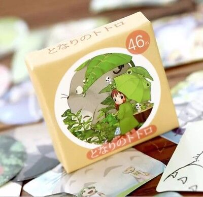 Box Of 46 Cute My Neighbour Totoro Stickers