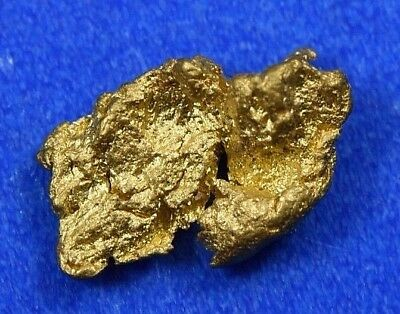 #840 Natural Gold Nugget Australian .57 Grams Genuine