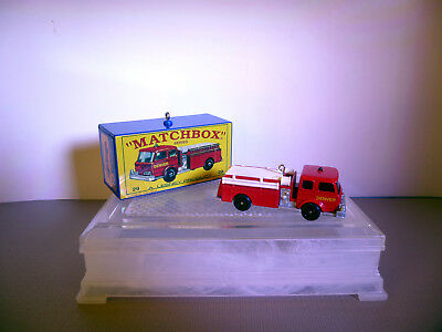 Matchbox 29-C Fire Pumper Set Fire Truck Hallmark Keepsake Christmas Ornament