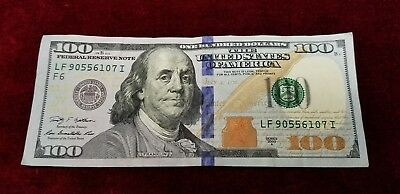 $100 Dollar Bill Fed Reserve Note 2009-2013 Lightly Circulated Free Fast Ship!