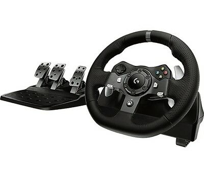 Brand New Logitech G920 Driving Force (941-000121) Wheel And Pedals Set for XBOX