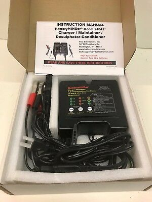 Battery Minder 24041  24 Volt Non-Aviation Charger Maintainer
