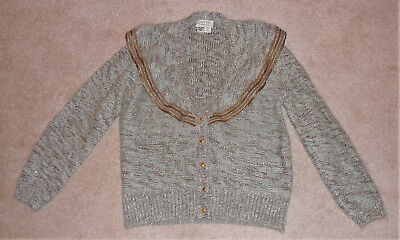 Italian wool sweater, circa 1980s, made in Italy, purchased in Beverly Hills