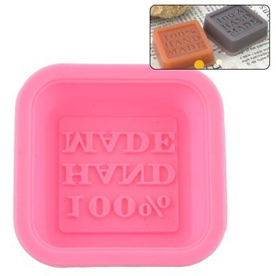 Silicone Cake Chocolate Baking Mould Tray 100% Handmade Soap Mold DIY