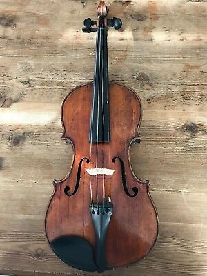 Antique Maple Violin made by E.J. Reed, Youngstown OH circa 1902 good condition