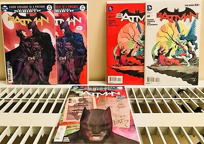Batman- 2 prints of #24 , 2 prints of 40 and (1) of 25 - Proposal and Death Iss.