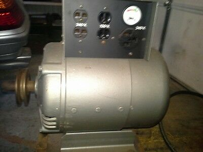 winco 8kw belt drive generator  LOCAL PICK UP ONLY
