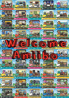 Animal Crossing Welcome Amiibo Cards (EU/UK Versions), MINT In Free Toploaders