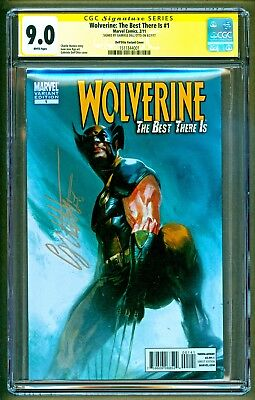 Wolverine The Best There Is #1 Marvel Signed Gabriele Dell' Otto Variant CGC 9.0
