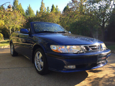 2002 Saab 9-3  low mile free shipping warranty clean carfax dealer serviced se cheap collector