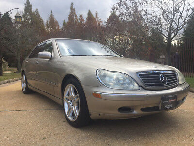2000 Mercedes-Benz S-Class  low mile free shipping wholesale clean carfax amg rims finance luxury cheap